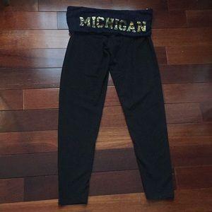 PINK University of Michigan leggings